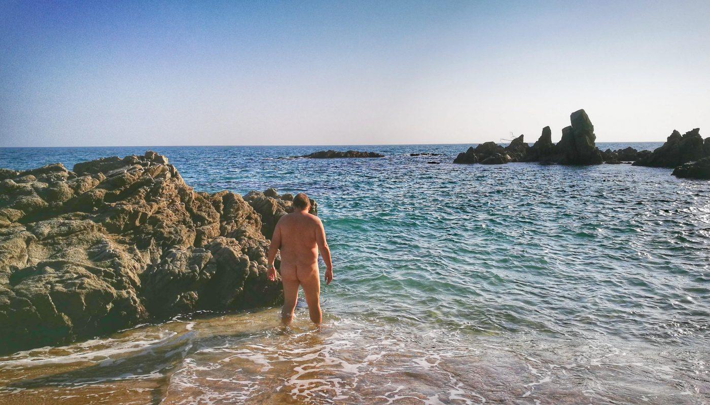 Playa nudista Sa Boadella